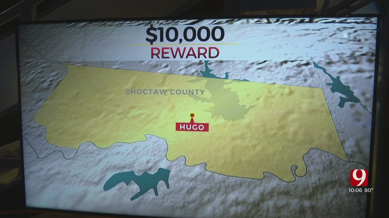 OSBI Offers Higher Reward For Information Connected To Choctaw County Murder