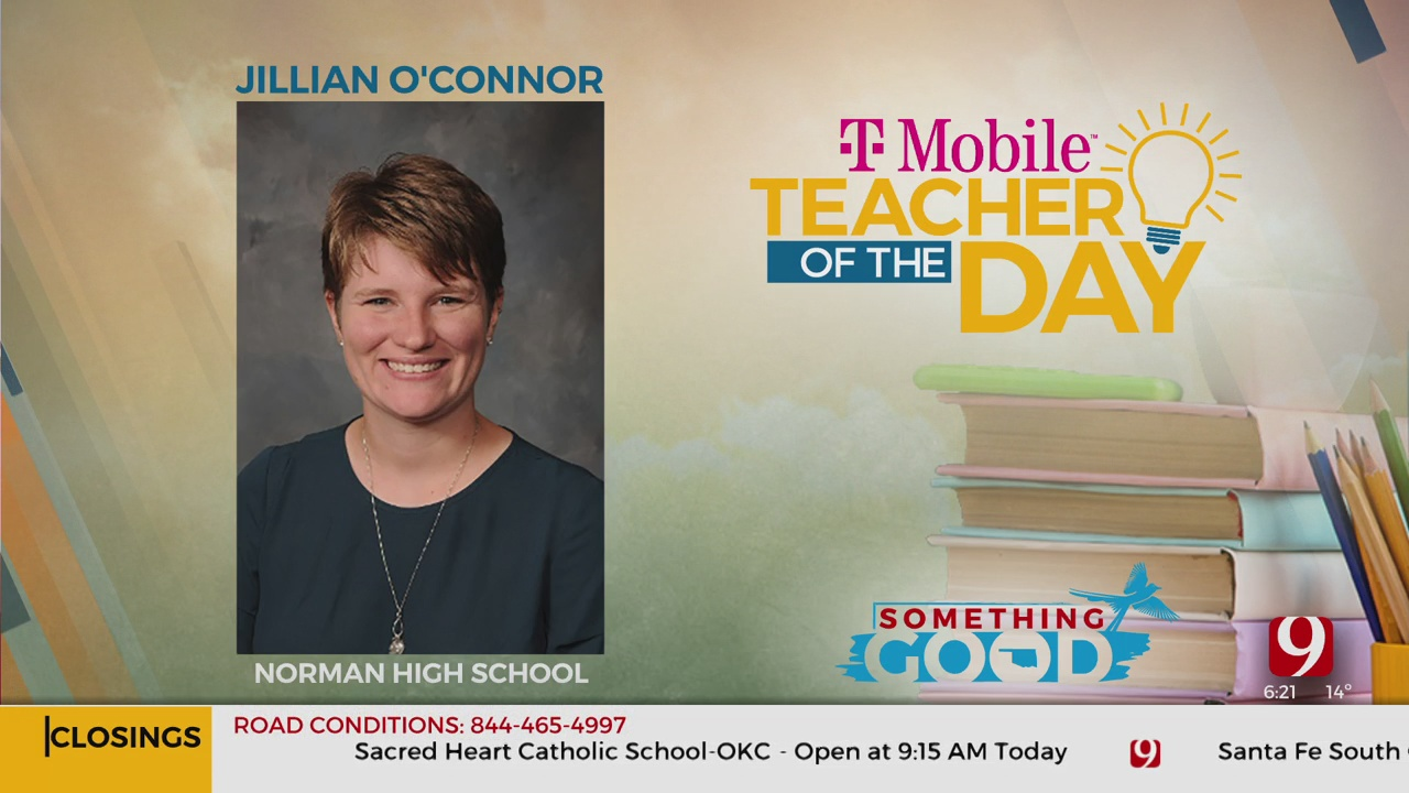 Teacher Of The Day: Jillian O'Connor