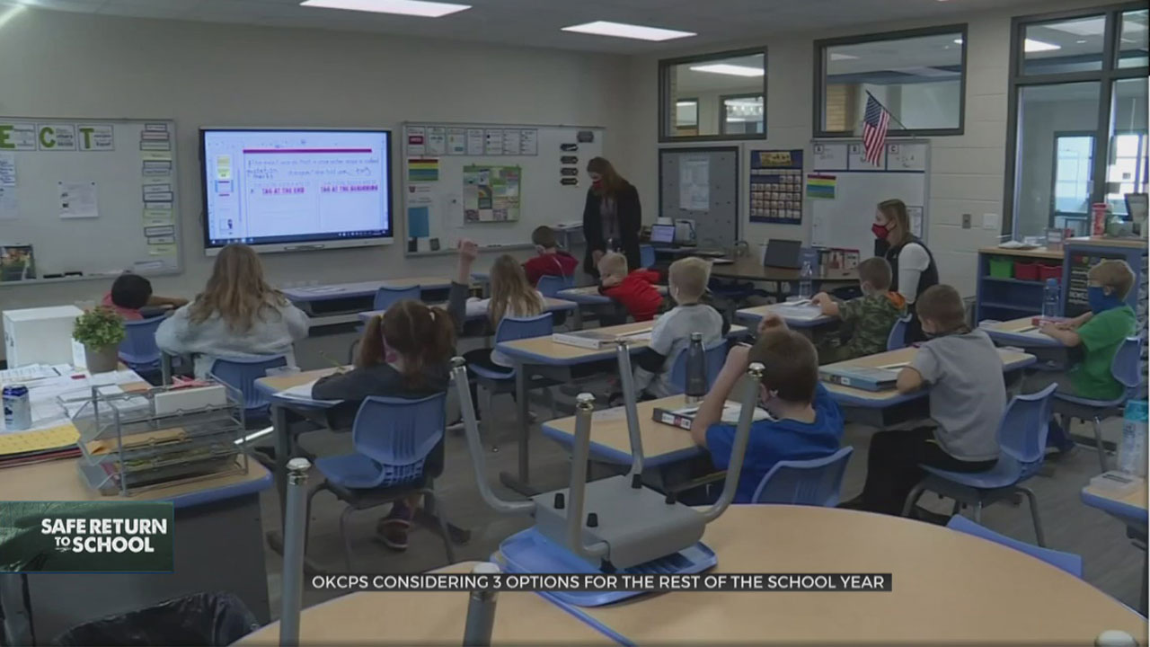 OKCPS Considering 3 Options For Expanded In-Person Classes