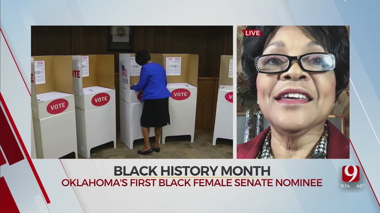 Black History Month: First Black Woman Nominated For Statewide Office