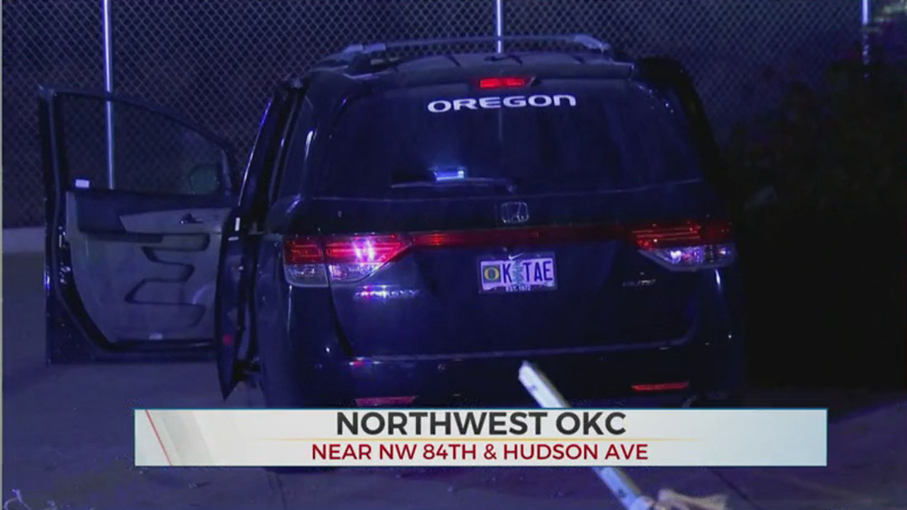 1 In Custody, 3 On The Run After Overnight Pursuit, Crash In NW OKC