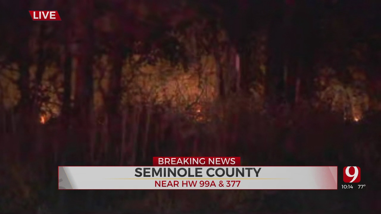 Dangerous Grass Fire Burns In Seminole County, Authorities Asking Everyone To Avoid The Area