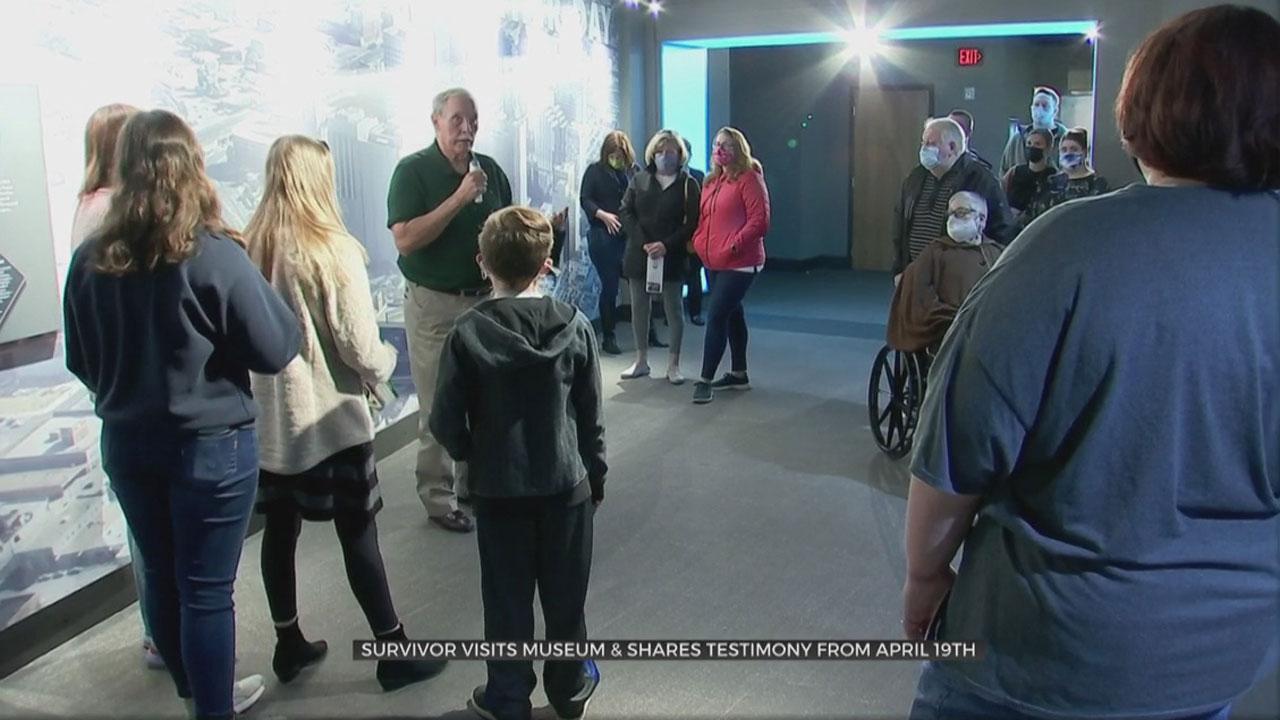 Murrah Federal Building Bombing Survivor Visits Museum, Shares Testimony
