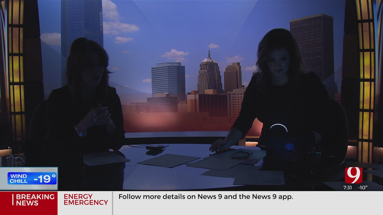 WATCH: Power Goes Out Live During News 9 This Morning