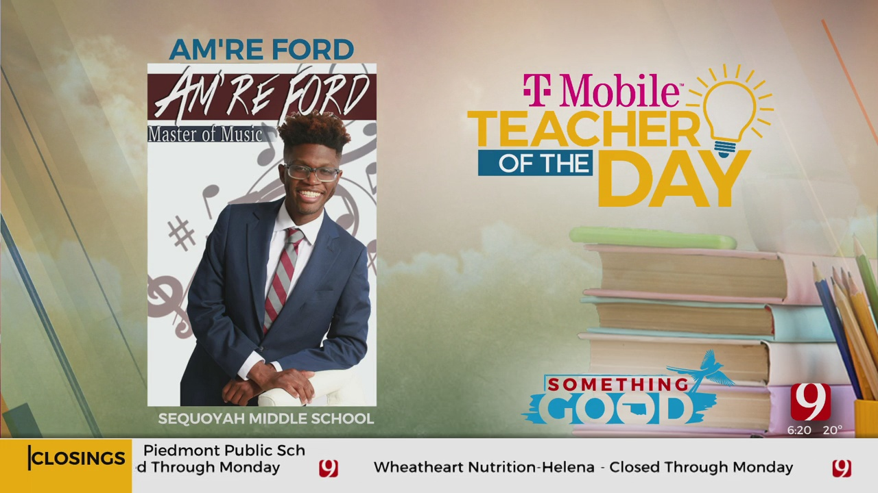 Teacher Of The Day: Am're Ford