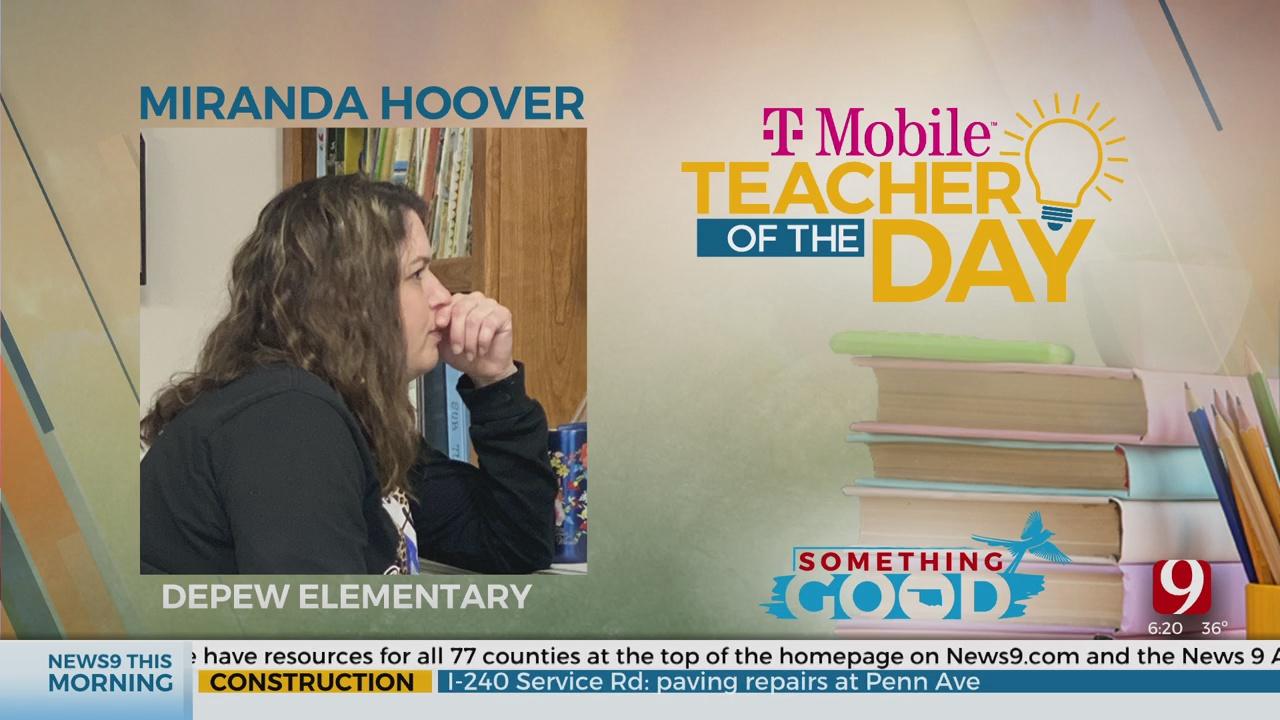 Teacher Of The Day: Miranda Hoover