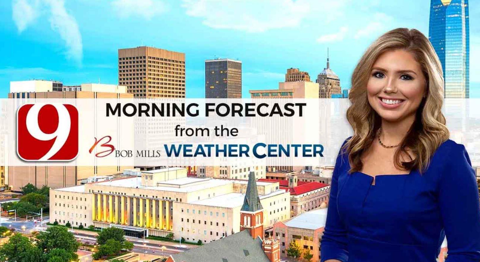 Cassie's Monday 9 A.M. Forecast