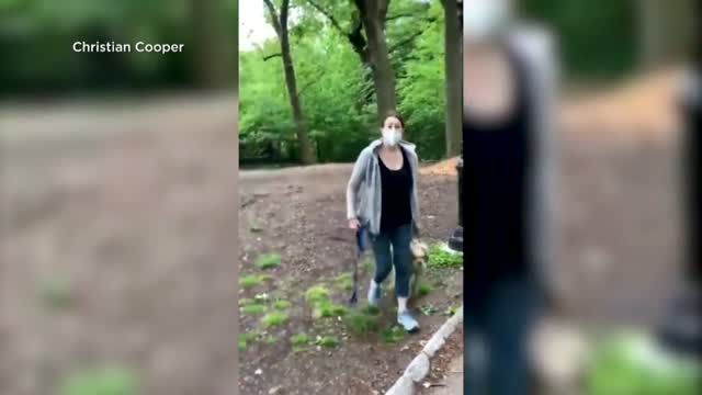 Viral Video Shows White Woman Calling Cops On Black Man Because He Asked Her To Leash Her Dog