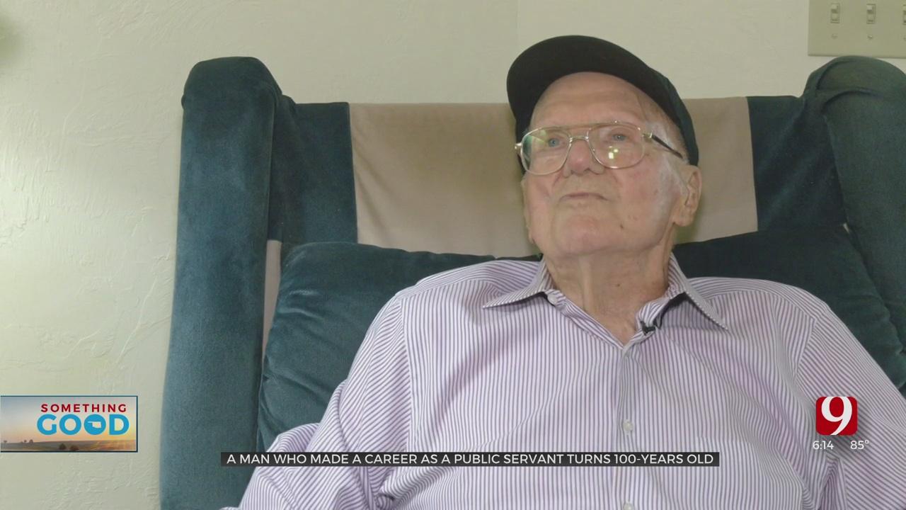Former Fireman, Policeman Ed Clark Celebrates 100th Birthday With Friends & Family