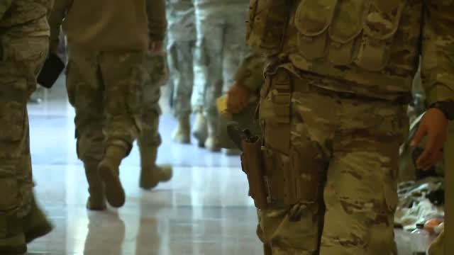 Thousands Of National Guard Troops Stationed In Capitol Due To High Threat Level