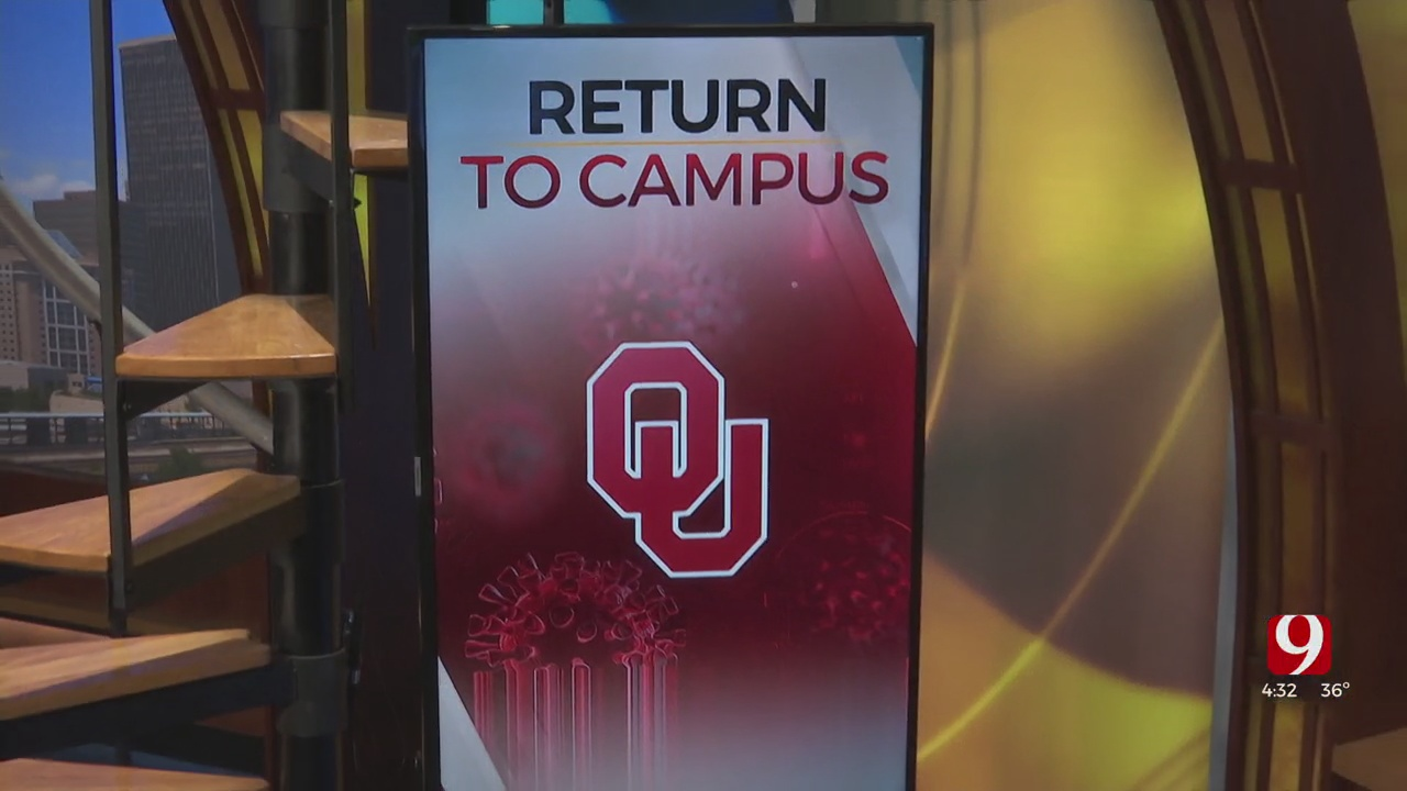 OU Prepares For Student's Return, COVID-19 Vaccinations