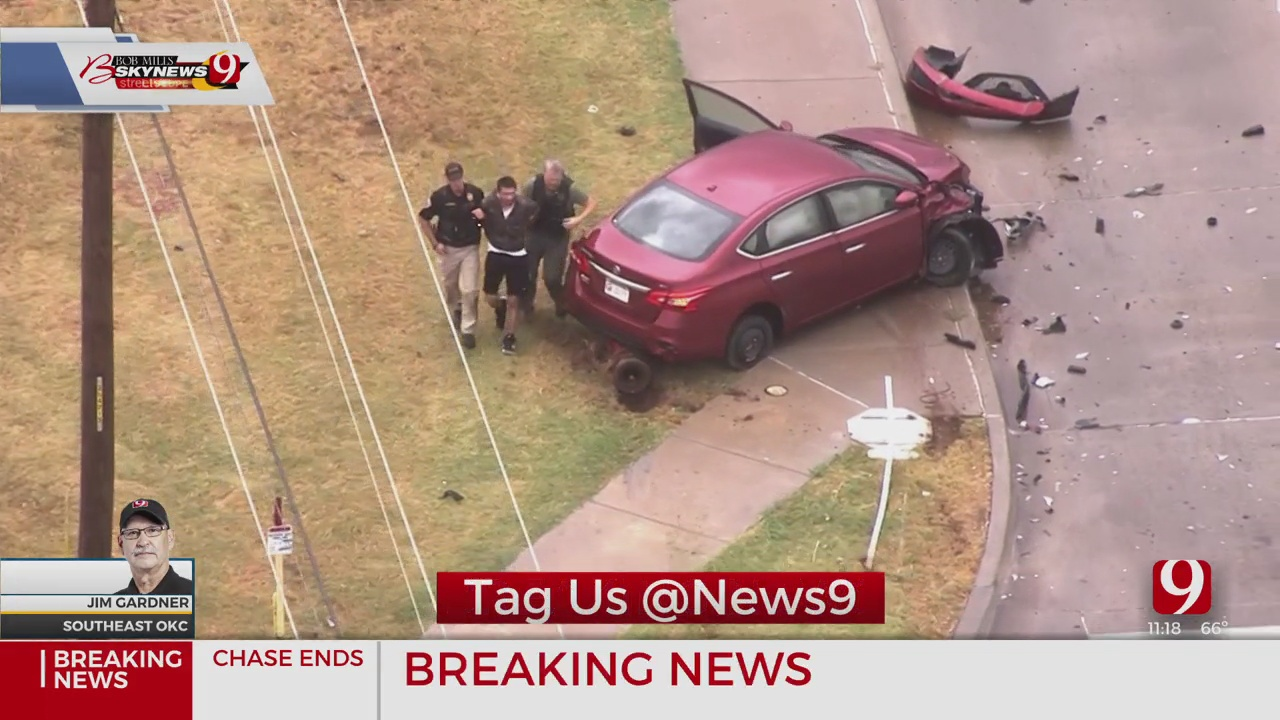 Man Detained After Police Pursuit In SE OKC