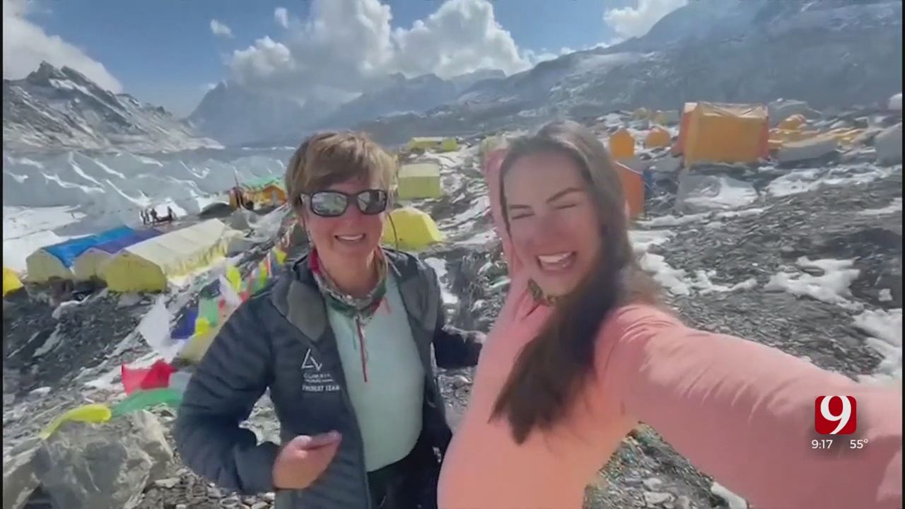 Edmond's Jess Wedel Discusses March To Top Of Mount Everest