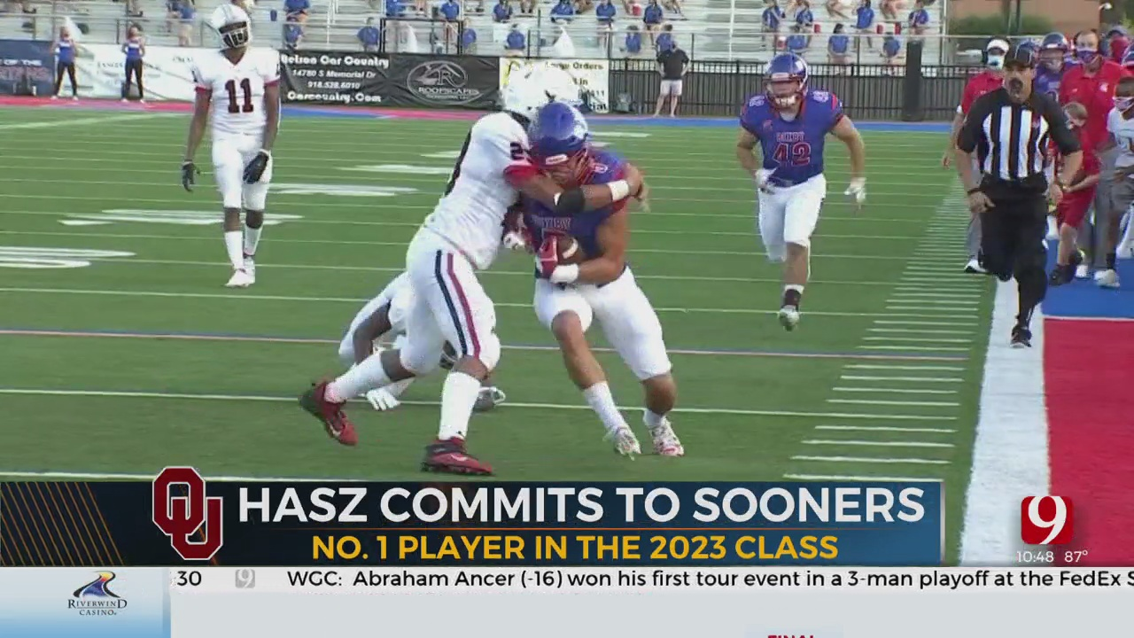 Sooners Pick Up Commitment From Bixby's Hasz