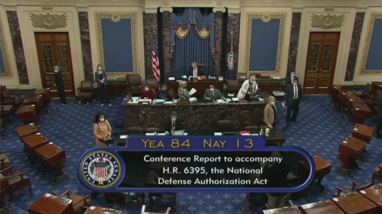 Horn, Cole Vote To Override President Trump's Veto Of The National Defense Authorization Act