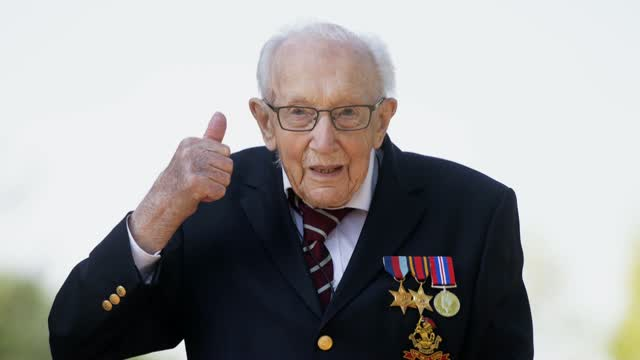 WWII Army Veteran, Hero Fundraiser Tom Moore To Be Knighted