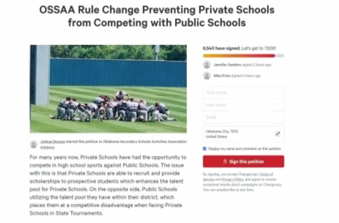 Thousands Have Signed Petition Regarding Private Schools' Ability To Recruit Student-Athletes