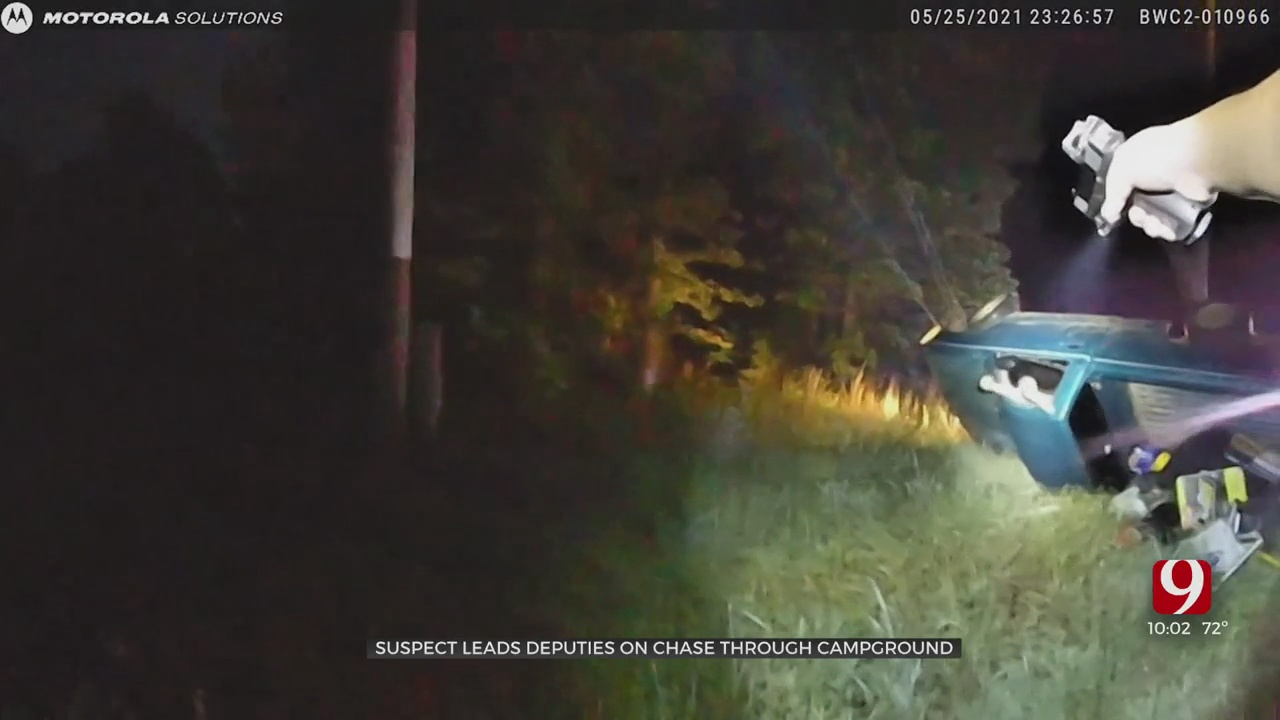 Man Accused Of Driving Drunk Leads Deputies On Chase Through Cleveland Co. Campground