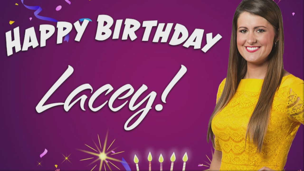 Happy Birthday To News 9's Lacey Swope