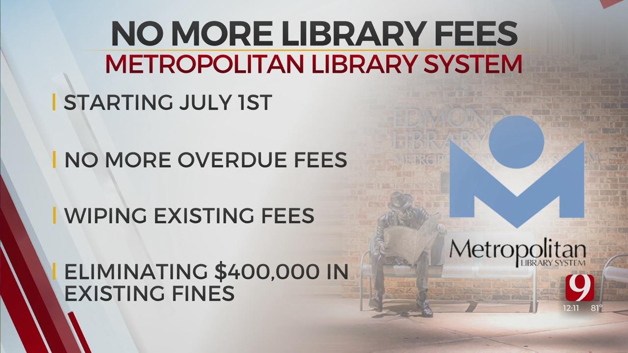 OKC's Metropolitan Library System To Eliminate Late Fees