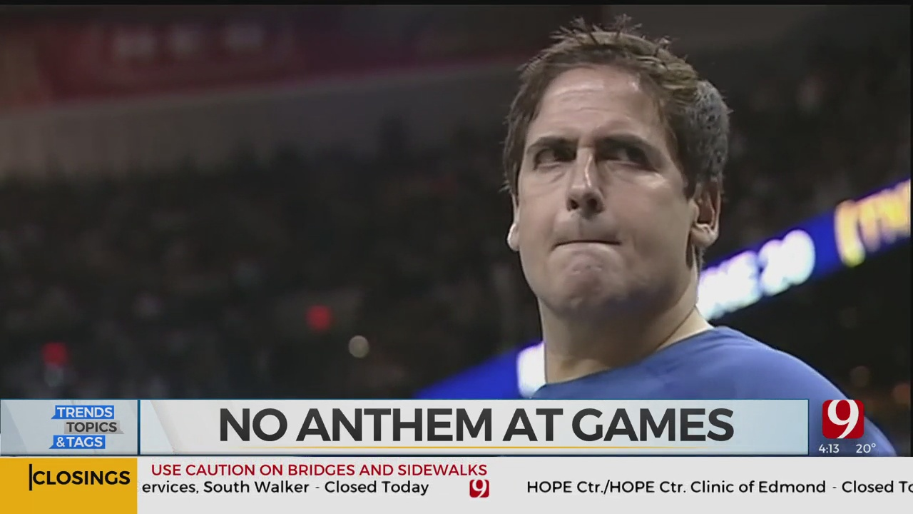 Trends, Topics & Tags: No National Anthem At Games?