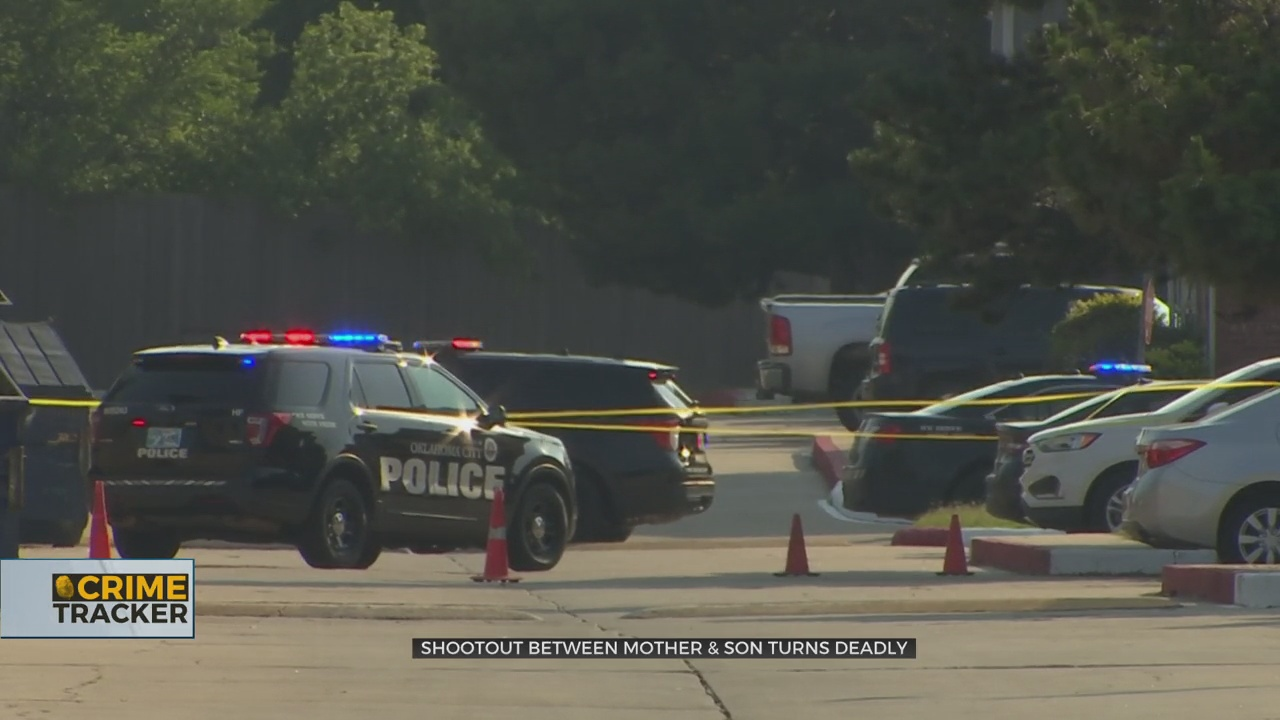 Residents Witness Deadly Shootout Between Mother & Son At NW OKC Apartment