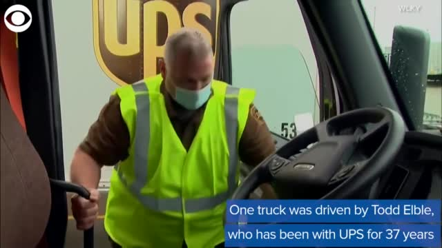 WATCH: UPS Delivery Driver Helps Haul Load To Kentucky In Memory Of His Father