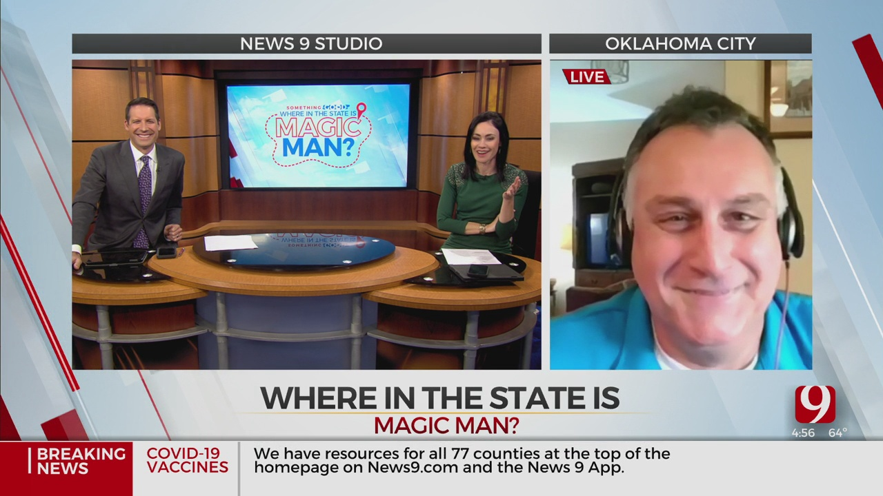 Where In The State Is Magic Man?: Feb. 3