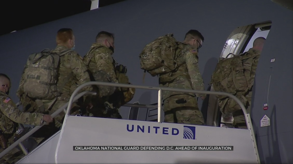 FBI Vetting National Guard Headed To D.C.
