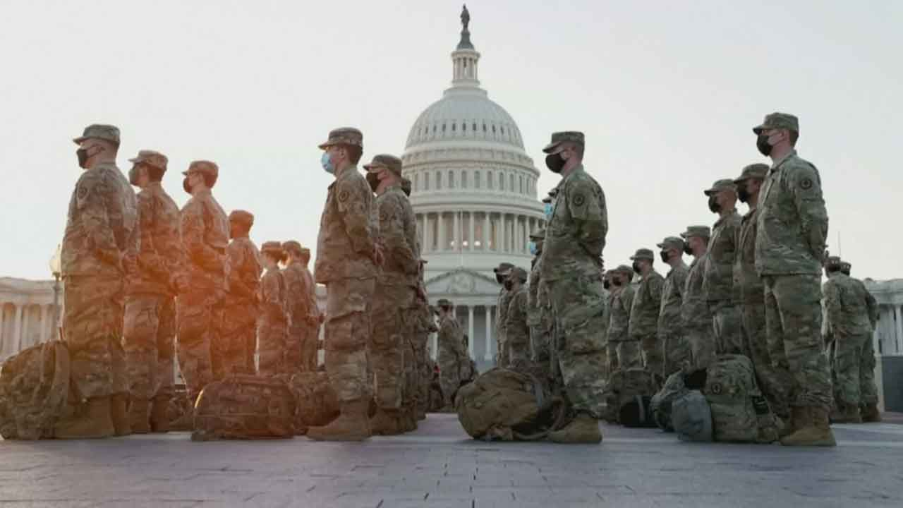Oklahoma Troops Prepare To Deploy To DC