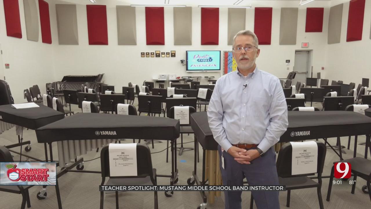 Teacher Spotlight: Mustang Teacher Earns Statewide Recognition
