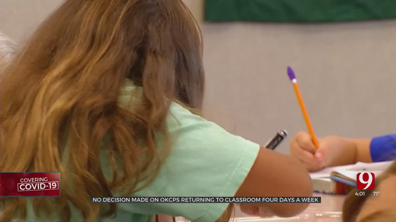 No Decision Made On When OKCPS Students Return To The Classroom 4 Days A Week