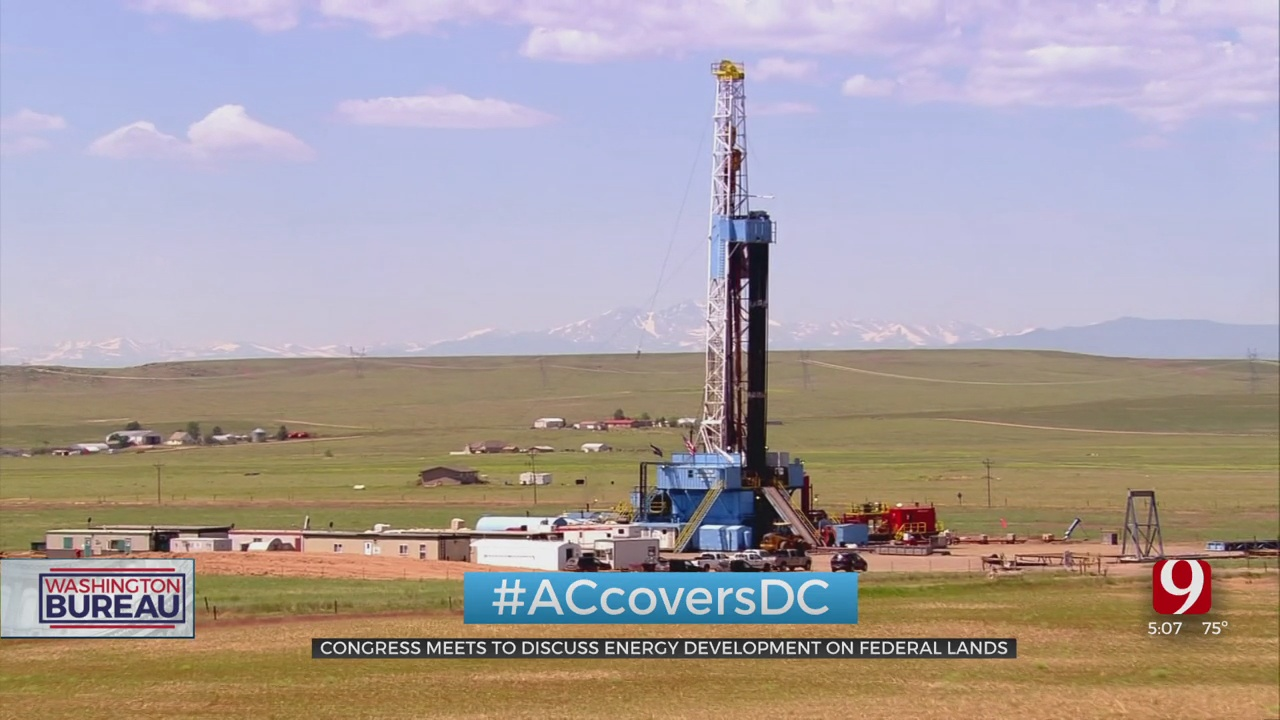 Congress Meets To Discuss Energy Development On Federal Lands