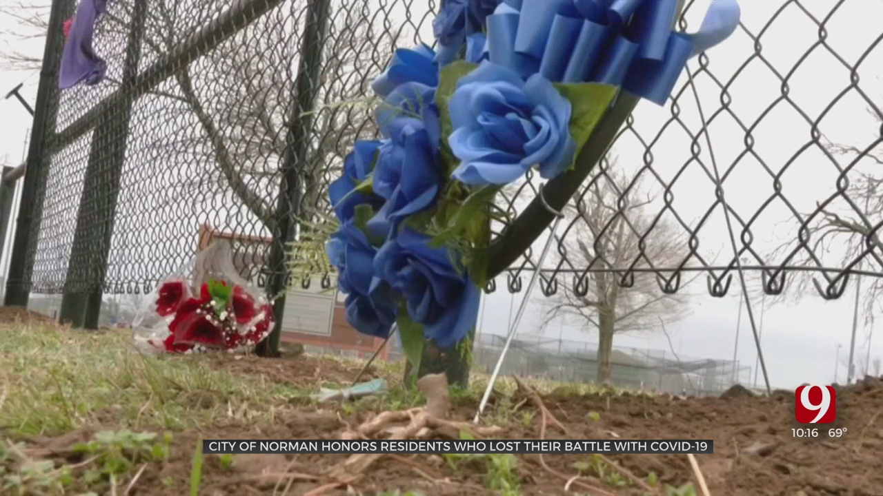 City Of Norman Opens Memorial For COVID-19 Victims