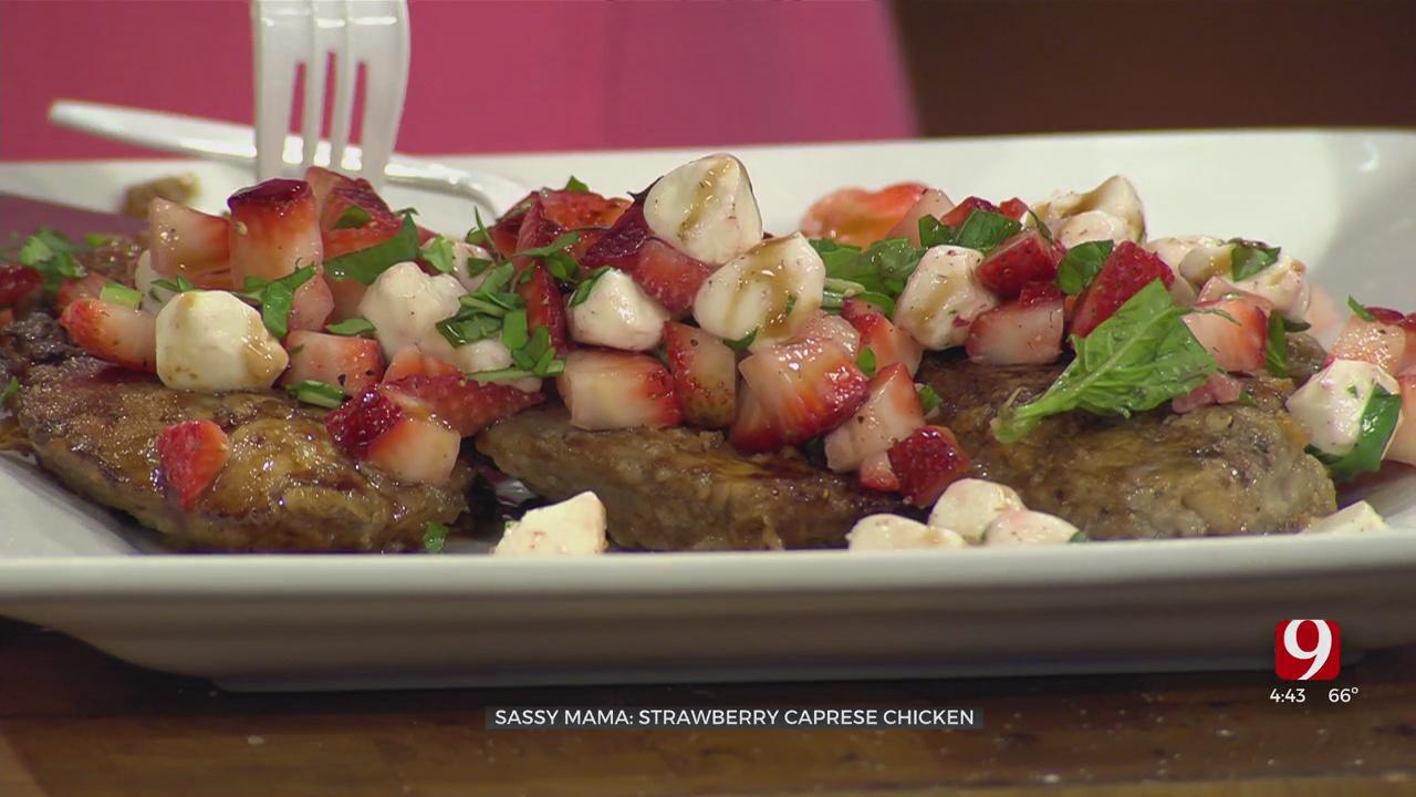 Strawberry Caprese Chicken