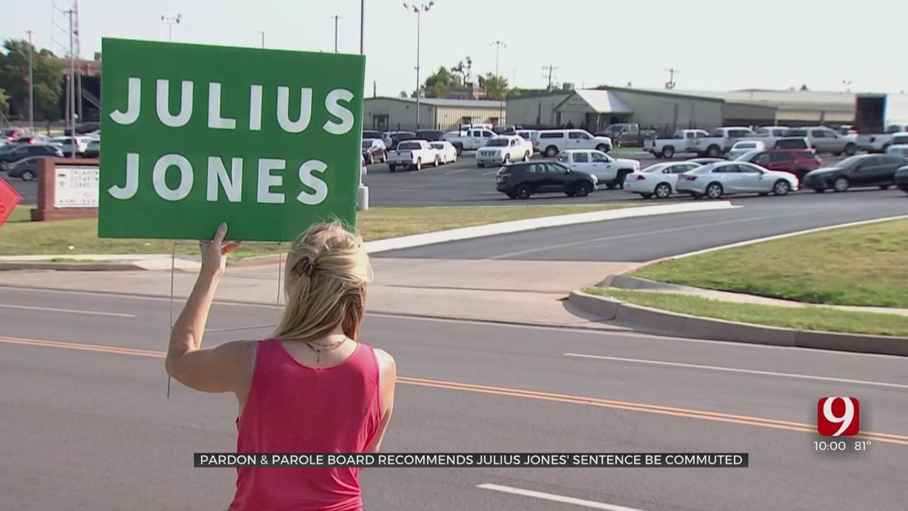 News Of Julius Jones' Commutation Recommendation Gets Mixed Reactions