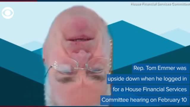 WATCH: Minnesota Lawmaker Appears Upside Down In Committee Hearing