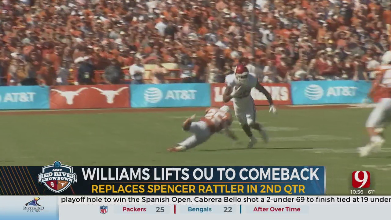 Williams Lifts OU To Comeback Victory