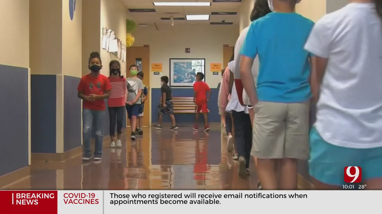 Some OKCPS Students Will Return To In-Person Learning This Week