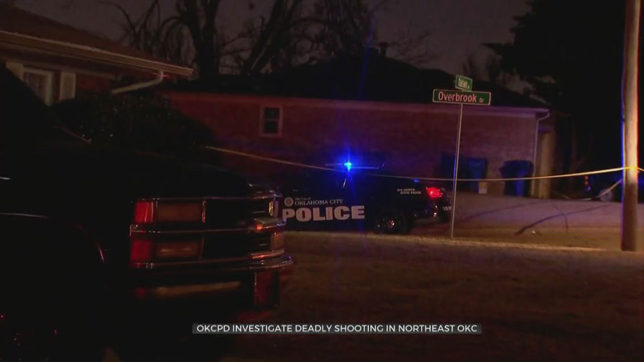 Suspect On The Run After 1 Killed, Another Injured In NE OKC Shooting