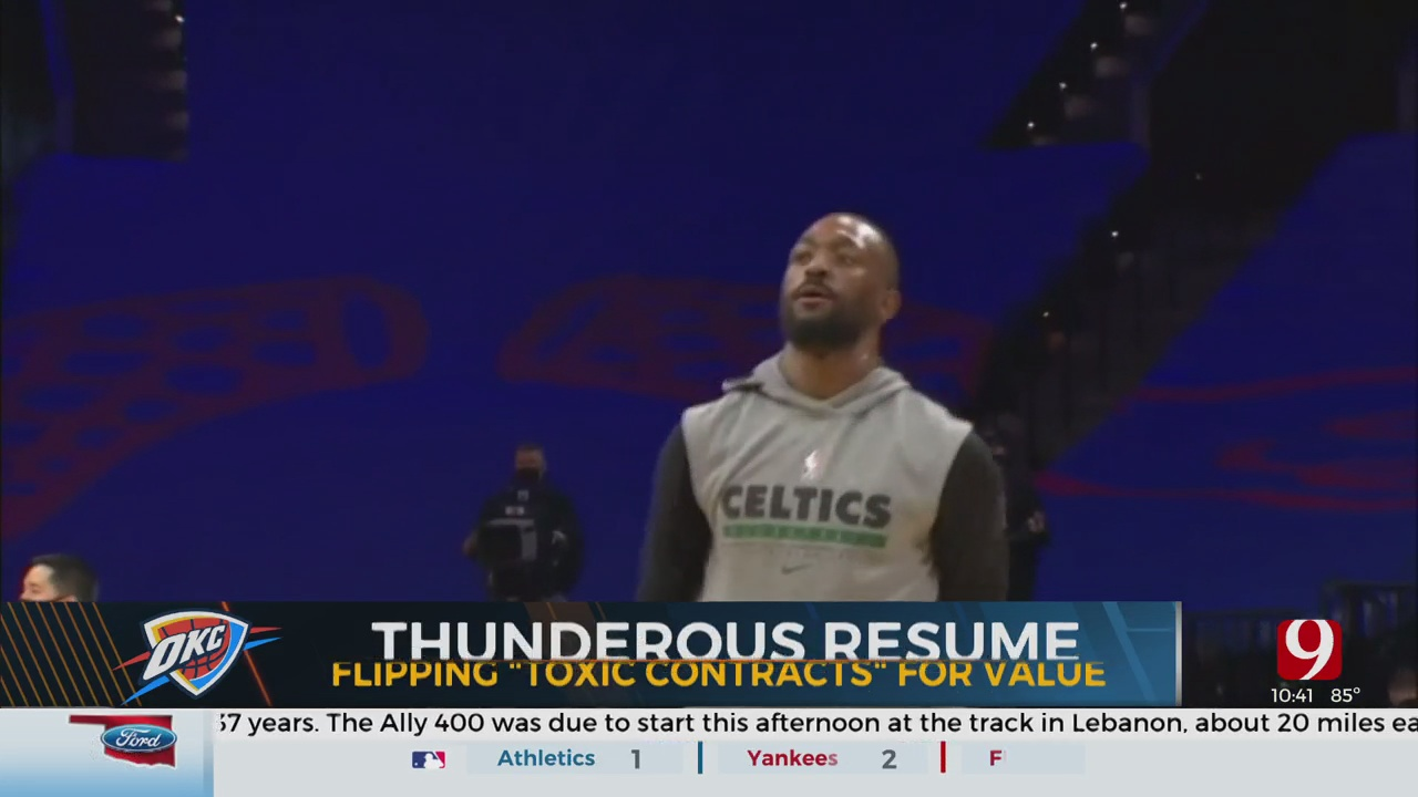 The Thunder Begins Offseason With Trade