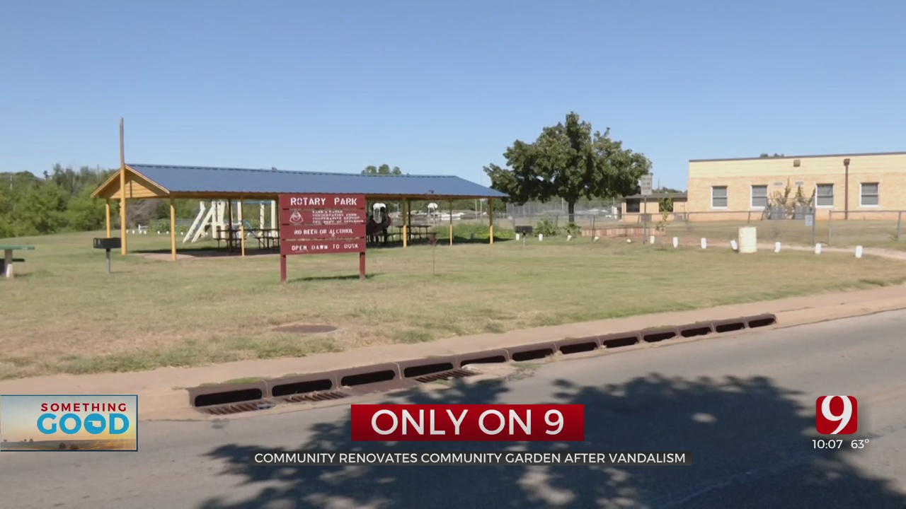 Community Garden Credited For Improving Del City Park Nearly Destroyed After Vandalism
