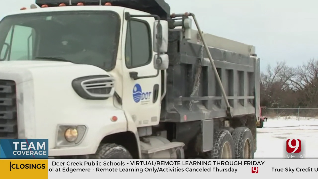 ODOT Crews Remain Busy Working To Clear Roadways Following Back-To-Back Storms