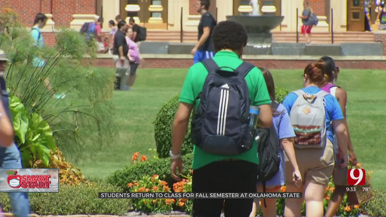 OSU Welcomes Students Back To Campus As COVID-19 Cases Surge Due To The Delta Variant