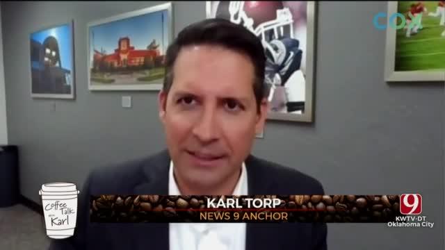 WATCH: Coffee Talk With News 9's Karl Torp