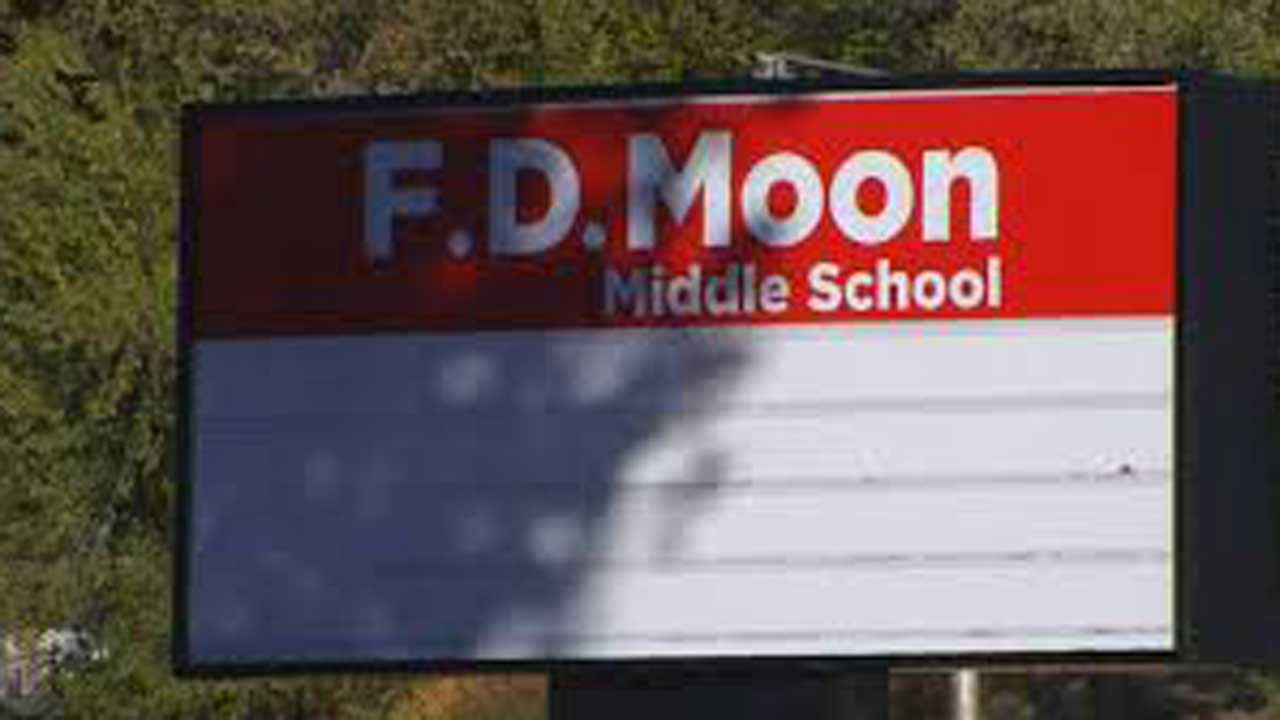 FD Moon Middle School Students Quarantine
