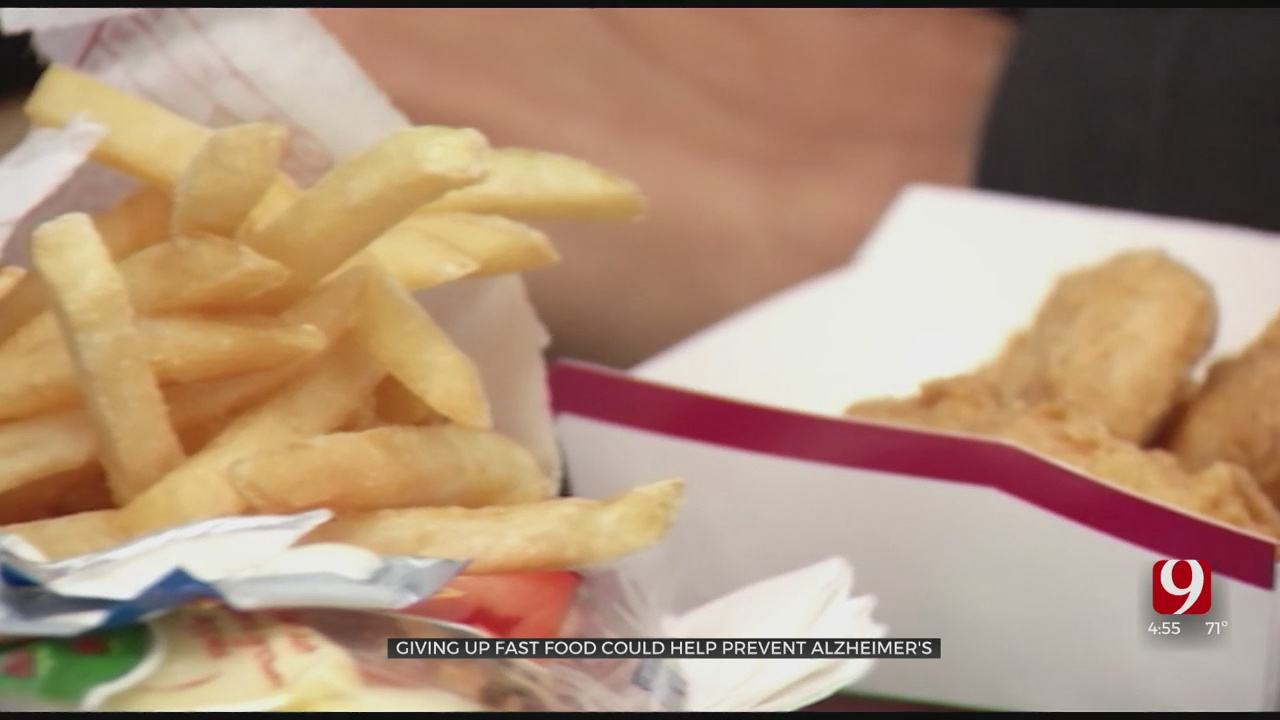 Medical Minute: Giving Up Fast Food Could Help Prevent Alzheimer's