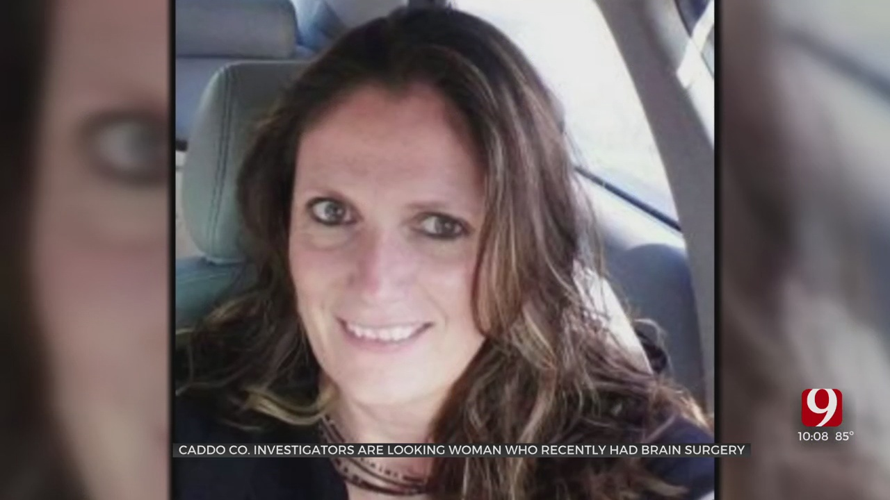 Caddo County Sheriff's Office Searching For Woman Recovering from Brain Surgery