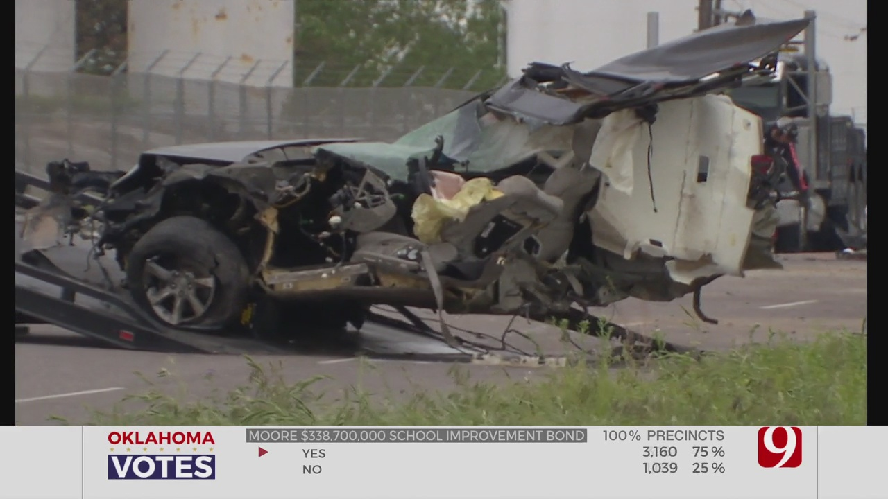 OHP Identifies Driver Killed In 6-Vehicle Crash In Del City