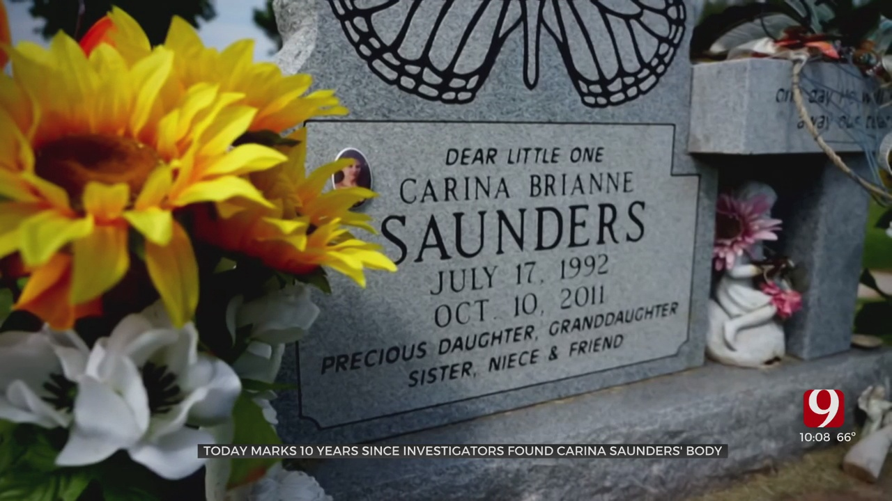 10 Years Since Investigators Found The Body Of Carina Saunders